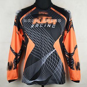 mka6I Yeni kros DH çabuk kuruyan ter-esneklik uzun kollu Motosiklet Bisiklet bisiklet yarış nefes bisiklet tişört motosiklet T-