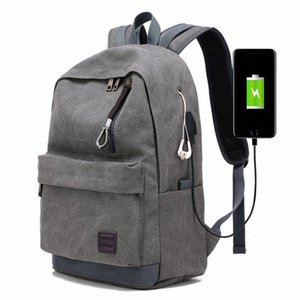 Мужского Бизнес Labtop Плечи сумка пакет Многофункциональный USB зарядка Рюкзак Рюкзак Мужского отдых и путешествия Рюкзак Сумки bZYH #
