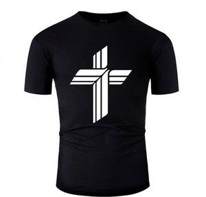 Persönlichkeit ausgestattet Lutheran Church Missouri Synod Symbol-T-Shirt Unisex-Jungen-Mädchen-T-Shirts Grund Solide High Quality