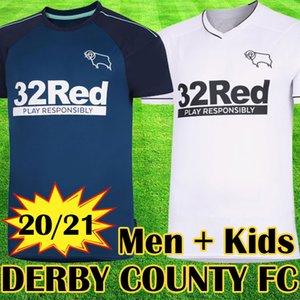 Tailandia 2019 2020 Derby County Football Club Camisetas de fútbol 32 Rooney camisetas de fútbol 19 20 camisetas de fútbol tops equipos kits maillot de foot