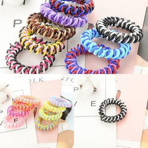 Small commodity rubber fashionable Rubber band telephone line headline telephone hair band children's Korean style hair accessories
