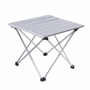 Открытый Алюминиевый складной стол для кемпинга Портативный барбекю Настольный портативный многофункциональный Ultra Light Mini Пикник EMCA #