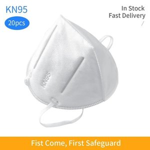 HotNon-Woven Filtration Disposable Mask Fabric Mouth Mask 95% Protective Masks-Anti-Dust, Smoke, Gas, Allergies, s