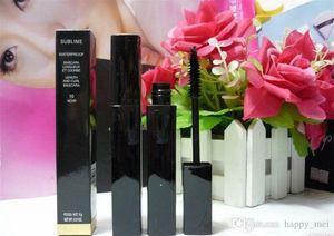 Free Shipping ePacket New Makeup Hot Eyes Sublime Loungueur Waterproof Mascara Black Mascara!6g