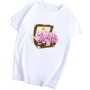 Vogue Bag Women T-Shirt Girl Harajuku Fashion Cotton Kawaii Casual Funny Camiseta Mujer Aesthetic Clothes Vintage T Shirt