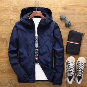 men designer clothes Spring winter jacket new 2020 fashion hooded men's jacket men's casual windbreaker zipper thin section canada jacket