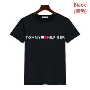 Camiseta Homens Mulheres Lavado Streetwear camisetas Verão Estilo de alta qualidade Rhude Top Tees Tommy