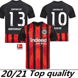 2020 Eintracht Frankfurt Kostic Fussball Jersey Frankfurt Home Kamada Fernandes de Guzman Auswärts Silva Paciencia Chandler Football Uniform