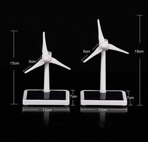 Turbine Mini vento Generator Modelo Solar Wind Power Windmill Eonal DIY Assembléia Modelo Kit Car desktop Decoração dzUg #