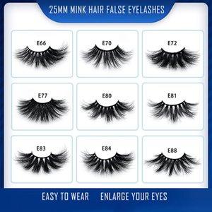 New Fashion Natural Long Tools For Makeup Beauty Soft Handmade Real Horse  Fur Cross Messy False Eyelashes Extension ...