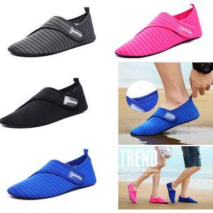 Verão Barefoot Shoes água mulher Shoes Wading do Aqua anti-derrapante sapatos Sneakers Homens Natação Mergulho Meias Praia Chinelos