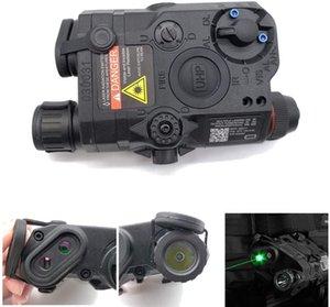 وصول PEQ-15 نمط البطارية حالة جديدة مربع LED مصباح يدوي (أسود) لAEG GBB CQB tb68