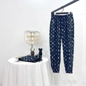 20ss New Arrival Paris designer fashion Full printing logos Zipper pocket Trousers Men Women sport Jogger Sweatpants Outdoor Pants 7.7