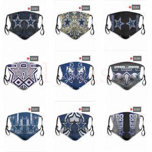 DHL Ücretsiz Ekspres Tasarımcı maskeleri CowboysSaints Rugby takımı yeniden toz maskeleri fabrika fiyatları karışık siparişleri, bir mesaj bırakın lütfen olabilir