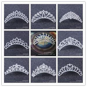 2019 New rhinestone crown water Creative Gift drill accessories children's princess hair accessories creative gifts