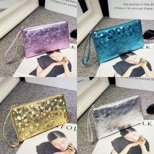Motif de pierre Sac Enveloppe Porte-monnaie Téléphone mobile d'embrayage Sacs à main maquillage Mini dames cadeau Mode Zipper Baguette 2 2mla B2