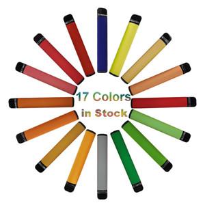 Kits Cartuchos de dispositivo nuevo 3,2 ml vainas desechables Vape Pen Vacía 17 colores vaporizador 550mAh batería OEM embalaje 5% desechables cigarrillos electrónicos