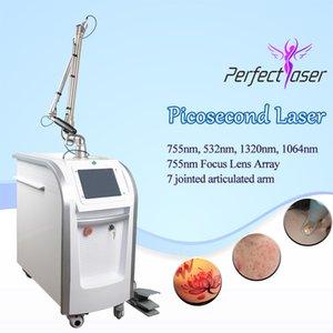다크 피부 Nd Yag 레이저 흉터 스폿 제거 한국 피코 레이저 기계 Picosecond Tatoo 제거 레이저 기계