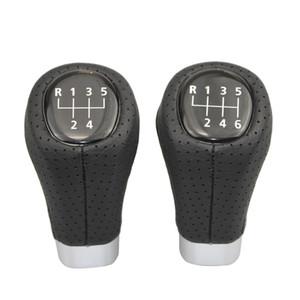 Car Gear Shift Knob For BMW 3 5 6 Series E36 E39 E46 E53 E60 E63 E83 E84 E87 E90 E91 E92 Leather 5 6 Speed Shifter Lever Stick