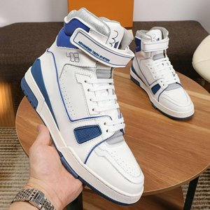 New Arrival Trainer Sneaker Mid -Top Men &#039 ;S Shoes Zapatillas Hombre Fashion Breathable Lace -Up Luxury Men Shoes High Quality Casual F