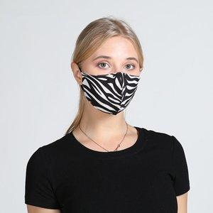ventilini Nefes Ağız Maskeleri Anti Toz Yıkanabilir Yeniden kullanılabilir Yüz maskesi kapak Tasarımcı maske DHB253 ile 5Color Çiçek Baskı Maske