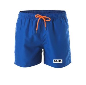 Balr designer swimsuit men's shorts quick-drying and comfortable beachwear in summer elasticated waist tie, high-end letter printing pants