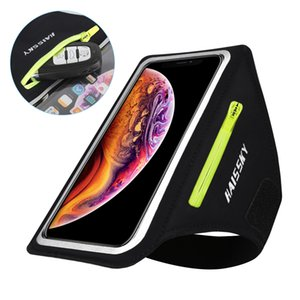 Zipper Car Key Earphone Bag Running Sports Phone Case On Hand For Airpods iPhone 11 Pro Max XS Samsung S20 Ultra Xiaomi Arm Bag