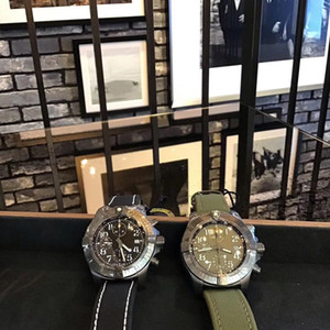 Breitling 새로운 패션 슈퍼 미군 II는 1884 개 디자이너 시계 망 자동 시계 기계식 석영 운동 전체 작업의 고급 시계 #을 z36r 시청