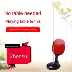 8ek7y Artifact maison de fitness formation équipement table de ping-pong pour les enfants d'entraîneur de balle de boulier Accueil de tennis Traini doux arbre élastique
