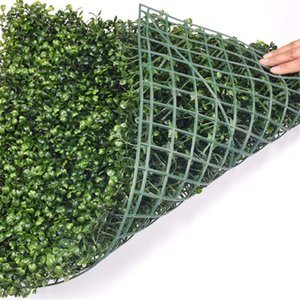 NEW 40x60cm Green Grass Artificial Turf Plants Garden Ornament Plastic Lawns Carpet Wall For Wedding Xmas Party Decor FREE SHIPPING