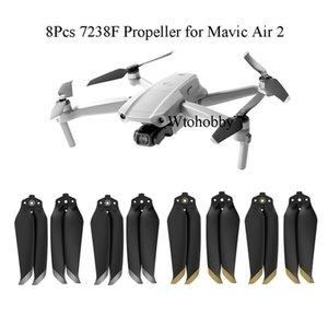 Kamera Drones 8Pcs 7238F Propeller Mavic Air 2 Quick Release Blatt-Stützen für DJI Mavic Air 2 Drone Zubehör