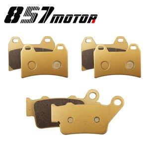 Front Rear Brake Pads For F800GT 13-15 F800R 09-14 F800S 06-10 F800ST 06-12 G650 XMOTO 07-09 F 800 R GT ST S