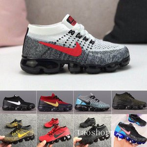 2019 Kids Athletic Shoes Children tn Basketball Shoes Wolf Grey Toddler 27 Sport Sneakers for Boy Girl Toddler Chaussures Pour Enfant CQN6