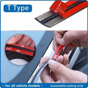 Araba Kapı Kauçuk Conta Gürültü İzolasyon Araç Aksesuarları e8gL # Otomatik Seal Sticker Pencere Kenar Cam Çatı Kauçuk Sızdırmazlık Strip Şeritleri