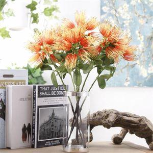 """Sahte Tek Ev Düğün Dekoratif Yapay Çiçekler için Dandelion 17.72"""" Uzunluk Simülasyon Pladtic Akasya Çiçek Stem"""