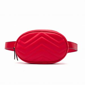 Free Shipping New Fashion Pu Leather Handbags Women Bags Fanny Packs Waist Bags Handbags Lady Belt Chest bags 4 colors 18CM