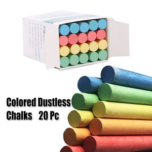 DIY Children Family Painting Chalk White And Chromatic NON-Toxic Dustless Chalk