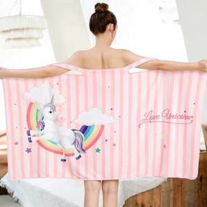 ستوكات منشفة حمام لبس المرأة سبا التفاف الطباعة مناشف الشاطئ دش سريع التجفيف منشفة ستوكات 70 * 140CM الشحن المجاني HHA1443