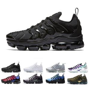 2020 Nike Air Vapormax Plus tn Sliver Patterns USA Tn plus Hommes Chaussures de course pas cher Persian Violet Marine Midnight Royal Game Tns Triple Réquin formatrices Sneaker