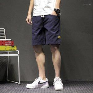 Designer Mens Outdoor Short Summer Male Elastic Loose Wash Pockets Shorts New Teenager Casual Running Lace Up Pants