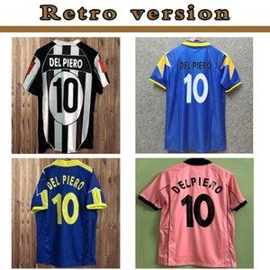 Retro 85 91 95 96 97 98 99 00 zidane 20 Ronaldo soccer jersey soccer jerseys INZAGHI Vieri Tacchinardi PIRLO DEL PIERO Conte Davids hot