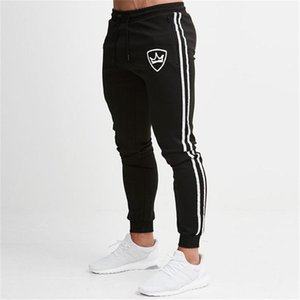 2019 Muscle Fitness Bruder dünne Sporthosen Jogging Fitness Pants Slim Fit nan shi ku Gewohnheit Processing1