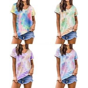 Womends Tee Shirt casuale del progettista 2020 corta estate T-shirt di moda di lusso delle donne di alta qualità Hollow outt Shirt Cloth S ~ 2XL # 629