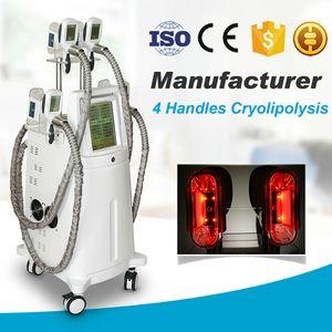 2020 Новейшее оборудование красоты профессиональная липосакция жира Замораживание тела похудения машина с 4 Cryo Handles работы на тусовке