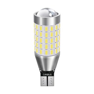 Voiture 921 912 LED inversée Ampoule de sauvegarde extrêmement lumineux T16 W16W T15 Retour Arrêter la queue Lumière Canbus Ampoules Inverser Feu arrière 3014Chip 87smd