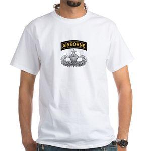 Heiße Art und Weise Ment Hemd Sommer-Art ältere zerstreute Flügel mit Ai Weiß Silk Schirm-T-Shirts