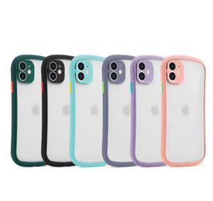 Para iPhone 11 x pro max xr xs 6 7 8 más coloridos casos de la cubierta pc híbrido TPU cuerpo delgado max
