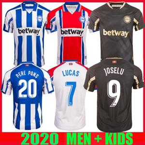 20 21 maillots de football Deportivo Alaves 2020 2021 Alavés 100e centenaire camiseta de Fútbol PERE PONS Joselu Laguardia chemises de football