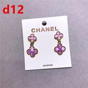Famous brand 316L Titanium steel stud Earring Luxury Heart Shape Brand Women
