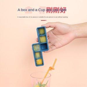 latt -making mold with cover boxed silicone Diy cream ice-making manual diy ice hockey stick ice cream artifact set